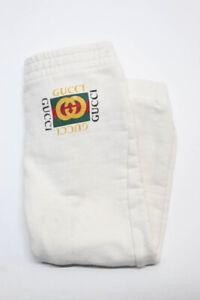 Gucci Girls Graphic Sweatpants Cream Size 4