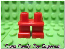 New LEGO Minifig Legs Short Plain Red Pirate Castle Child Elf Dwarf Body Part