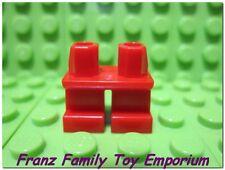 New LEGO Minifig Legs Short Plain Red Pirate Castle Child Elf Dwarf Body Part