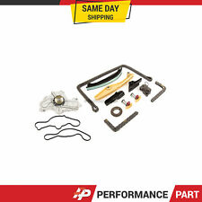 Timing Chain Kit Water Pump Fit 11-13 Ford Flex Edge Explorer Lincoln 3.5 3.7