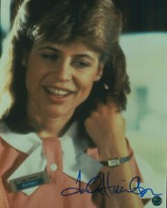 Linda Hamilton Signed Photo COA Actress Terminator Beauty & Beast King Kong Live