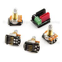 NEW EMG Solderless Wiring kit 1 or 2 Active Pickups Pot SHORT SHAFT SPLIT w/Jack