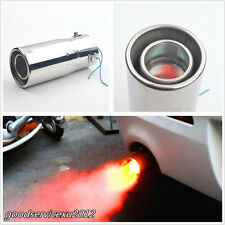 Stainless Steel Vehicle Exhaust Pipe Modified Torching End Pipe Tail Throat 63mm