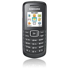 Samsung  GT E1080W - Schwarz (Ohne Simlock) Handy