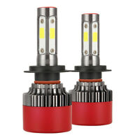 H7 2000W 300000LM 4-Sides Canbus LED Headlight Kit Car Light Bulb 6000K Bulbs