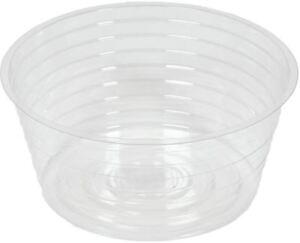 Clear Plastic Vinyl Garden Pot Liner 230 mm or 300 mm