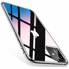 iPhone 11 Hülle Silikon Schutzhülle Klar Transparent Durchsichtig Slim Fit Case