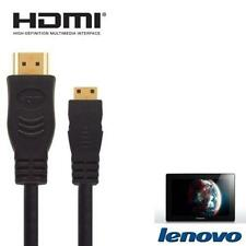 1.8m Gold Plated HDMI Mini to HDMI For Lenovo ThinkPad Tablet 2  To TV
