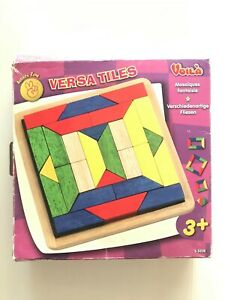 Voila Board game Wooden Mosaic Game Versa Tiles wooden blocks