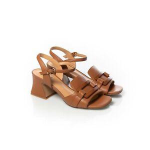 JEANNOT Sandali Donna Nappa Cuoio Tacco Alto 65 mm Sedicibagsandshoes