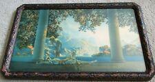 "Maxfield Parrish Print DAYBREAK Framed 10 1/2"" X 18"""