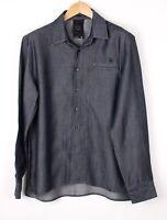 G-Star Raw Herren Neu Korrigieren Arbeitskleidung Freizeithemd Größe XL BAZ376