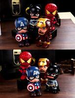 Avengers Spiderman Superhero Savings Piggy Bank Creative Money Box Birthday Gift