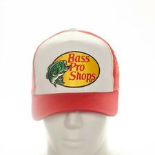 Bass Pro Shops Truckers Mesh Snapback Cap Red