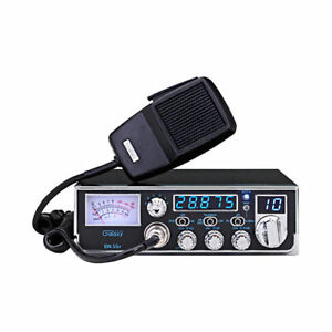 GALAXY DX55F COMPACT 10 METER AMATEUR MOBILE HAM RADIO 5 DIGIT FREQUENCY COUNTER