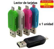 LECTOR DE TARJETAS. Para tarjetas SDHC/SDXC y micro SD/SDHC/SDXC. Adaptador