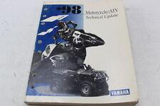 Yamaha Motorcycle/Atv Technical Update 1998 Oem Service Repair Manual Yam1