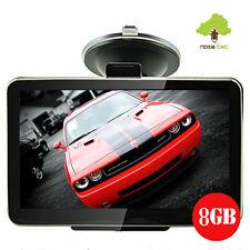 "8GB TOM Car GPS SAT Navigation System Touch Screen FM Speed POI UK EU Maps 4.3"""