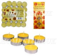 PRICES CITRONELLA TEALIGHTS FRAGRANCED CANDLES UPTO 4 HOURS BURN TIME FOR GARDEN