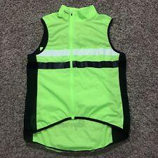 Rapha Brevet Vest Gilet Hi-Viz Green Reflective Cycling Size Medium