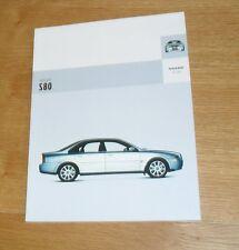 Volvo S80 Brochure 2003 - SE & Executive