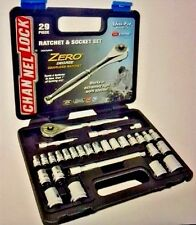 Channel Lock 39102 Zero Degree Gearless Ratchet/Socket Set (29 pc.)
