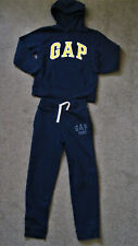 Boys Navy Blue/yellow Gap Tracksuit, 8-9yrs.Lonsdale Trainers, size 2.