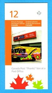 """Picture Postage  Canada Post """"Thanks to Employees"""" Van Booklet of 12"""