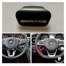 Mercedes Benz AMG Black steering wheel emblem decal sticker badge decoration UK