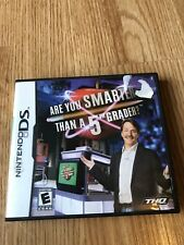 Are You Smarter Than a 5th Grader (Nintendo DS, 2007) Cib Game Works VC2
