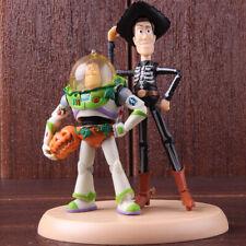 Toy Story Buzz Lightyear Woody Diorama Halloween Version PVC Figure Model Toy