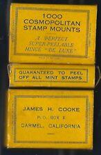 Cosmopolitan PEALABLE Stamp Hinges