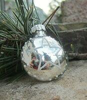 ★stern christbaumkugel weihnachtsohrring silber mit  3cm mit brisur