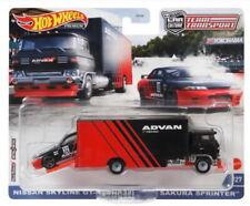 Hot Wheels 2021 Team Transport Nissan Skyline GT-R(BNR32) & Sakura Sprinter 1/64