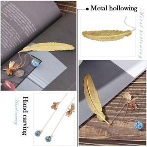 Tassel Feather Three-dimensional Pagination Mark Book Holder Book Clip Bookmark