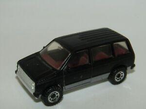 Matchbox Superfast No 64 '1984' Dodge Caravan Black Very Near Mint UB