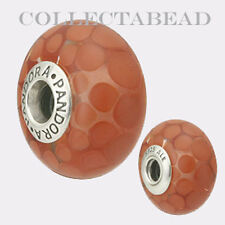 Authentic Pandora Silver Murano Red Exotic XL Bead *RETIRED*  790697