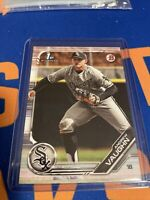 2019 Bowman Draft Andrew Vaughn 1st Paper Rookie #BD-100 White Sox RC