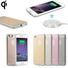 QI Wireless Charging Receiver Charger Gel Back Case For Apple iPhone Xs Max Xr