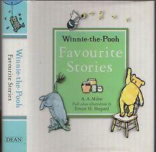 A.A. MILNE: WINNIE-THE POOH FAVOURITE STORIES -  Ernest H. Shepard (HCDJ; 2006)