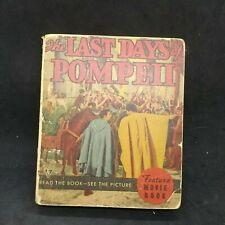 "1935 ""The Last Days of Pompeii"" Little Big Book Whitman Publishing"