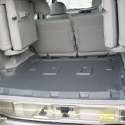 Genuine SANDGRABBA Moulded 7-Seat Flat* Cargo Mats - FORD EVEREST Wagon 2015-on