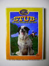 The Wonderful World of Disney STUB THE BEST COWDOG IN THE WEST Movie on DVD