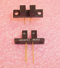 QTY (2) HOA1874-002 HONEYWELL SENSING TRANSMISSIVE PHOTO TRANSISTOR