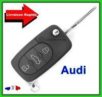 Lame Vierge Coque Télécommande Plip Clé Audi 3 Boutons Coffre Q5 Q7 S line