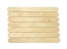 250 x LOLLYPOP STICKS Standard SIZE, NATURAL WOODEN LOLLY POP STICKS 95x10mm