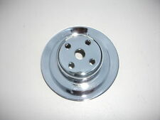 RECHROMED WATER PUMP PULLEY SUITS HT HG LH LX UC HQ HJ HX HZ WB HOLDEN NASCO