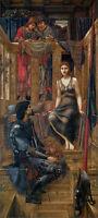 King Cophetua and the Beggar Maid Burne-Jones 100% Cotton Canvas Picture Print