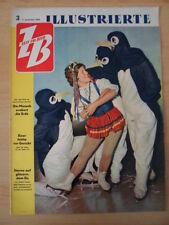 ZEIT IM BILD 3/1958 + * Spiel mit Aktien Fehler vor Gericht Sterne Eisrevue