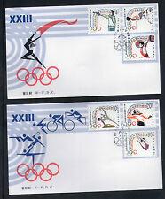 China 1984 J103 23rd Olympic Games ,  FDC B